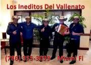 Grupo  vallenato en miami  786 355 3039