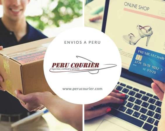 Peru Courier, Envios de USA a todo el Peru
