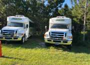 2 (two) 2010 ford f-650 buses. 2 (dos) buses ford…